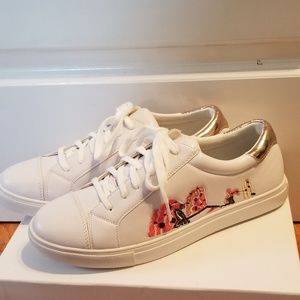 Embroidered sneakers NWT